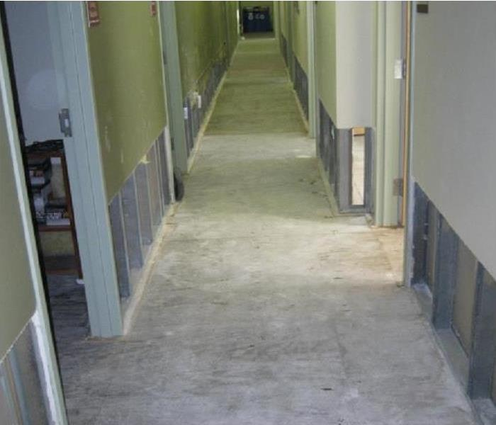 Commercial Water Damage - Santa Rosa Beach Office Building After