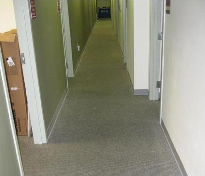 Commercial Water Damage - Santa Rosa Beach Office Building Before