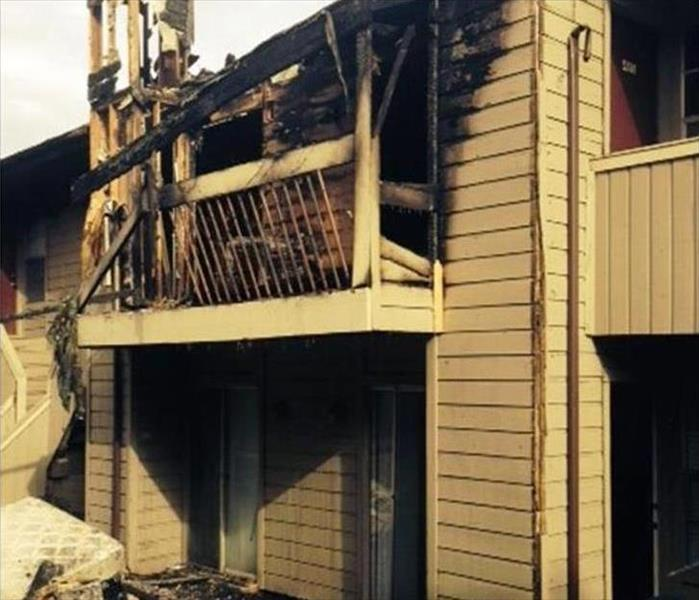 Fire Damaged Property in Seagrove Beach